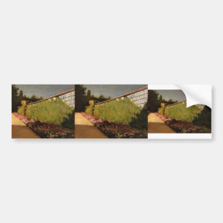 Gustave Caillebotte-The Wall of the Kitchen Garden Bumper Sticker