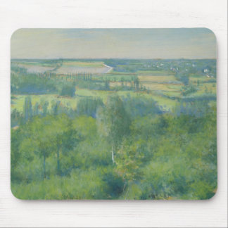 Gustave Caillebotte - Valley of the Yerres Mouse Pad