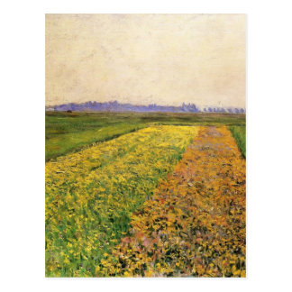Gustave Caillebotte-Yellow Fields at Gennevilliers Postcard