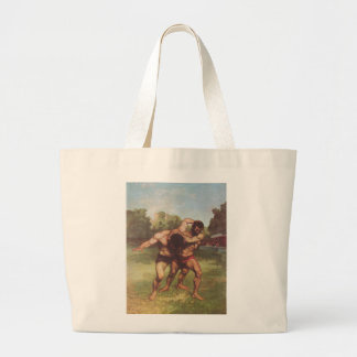 Gustave Courbet Painting Canvas Bags