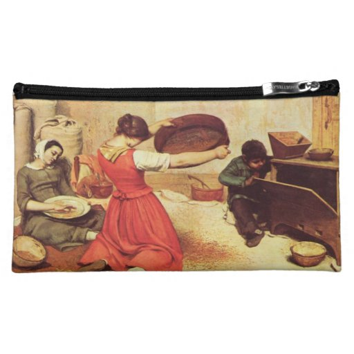 Gustave Courbet Painting Makeup Bag
