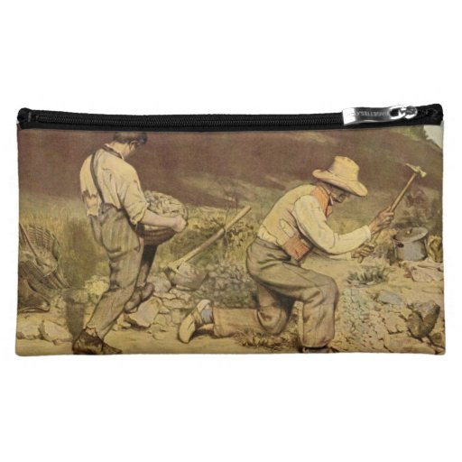 Gustave Courbet Painting Cosmetic Bag