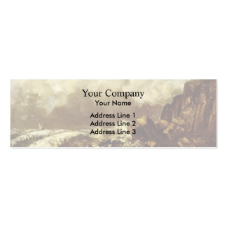 Gustave Courbet- Seascape at Etretat Business Card