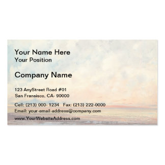 Gustave Courbet- Seascape Business Card Templates