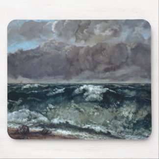 Gustave Courbet - The Wave Mouse Pad
