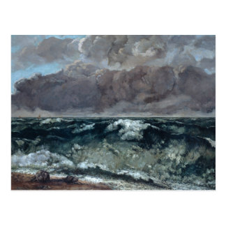 Gustave Courbet - The Wave Postcard