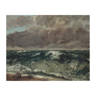 Gustave Courbet - The Wave Wood Canvases