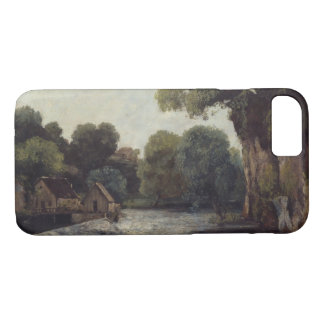 Gustave Courbet - The Weir at the Mill iPhone 7 Case