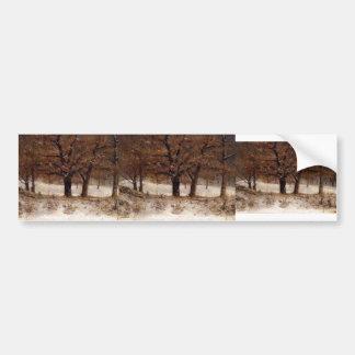 Gustave Courbet-View of the Parc de Crete Bumper Stickers