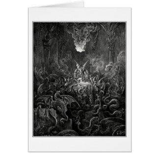 Gustave Dore: dreadful was the din Card