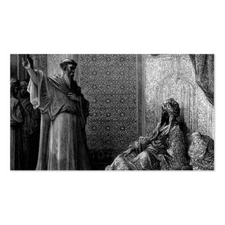 Gustave Dore: St. Francis of Assisi Business Card