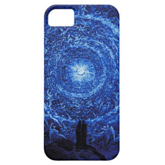 Gustave Dore The White Rose iPhone case (blue)