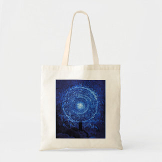 Gustave Dore The White Rose Tote Bag (blue)