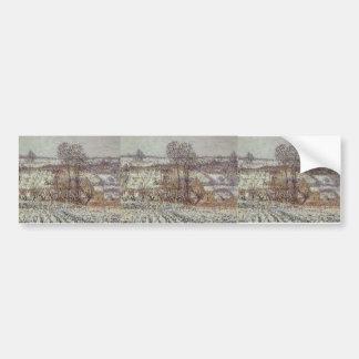 Gustave Loiseau- Near Pontoise Bumper Stickers