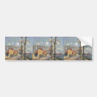 Gustave Loiseau- Quay of Pothius in Pontoise Bumper Sticker