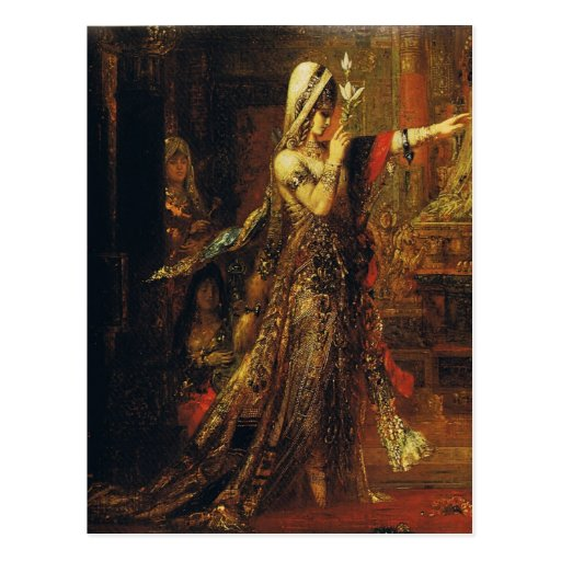 Gustave Moreau Art Post Card