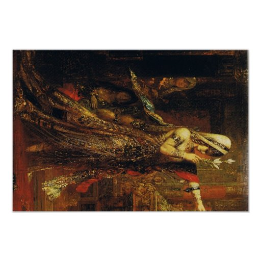 Gustave Moreau Art Poster