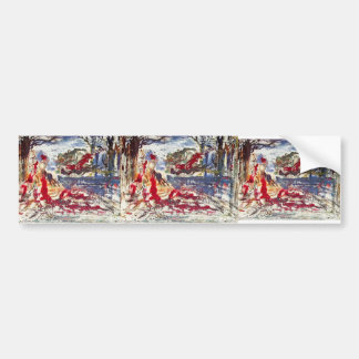 Gustave Moreau: Near the Water Bumper Stickers