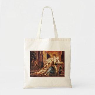 Gustave Moreau: Samson and Delilah Canvas Bag