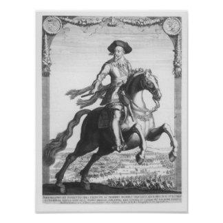 Gustavus Adolphus II, King of Sweden, on Poster