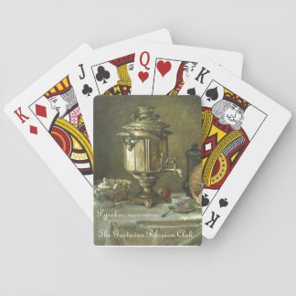 Gustavus Russian Tea Samovar Playing Cards