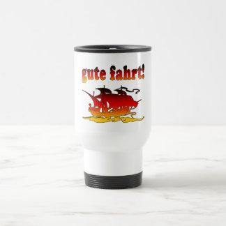 Gute Fahrt Good Trip in German Vacations Travel Travel Mug