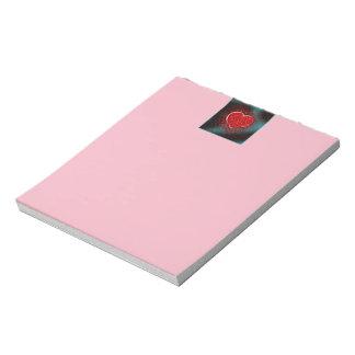 Gutsy Valentine Notepad
