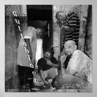 GUTTA BLOCC RECORDS POSTER