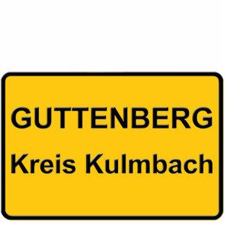 GUTTENBERG CIRCLE KULMBACH STANDING PHOTO SCULPTURE