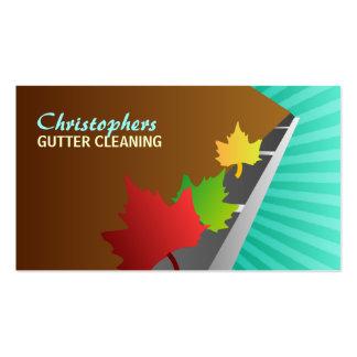 Gutter Cleaner Business Cards