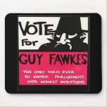 Guy Fawkes campaign Mousepad