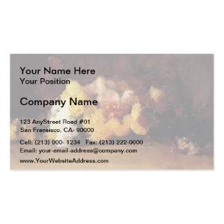 Guy Rose- Chrysanthemums Business Card Template