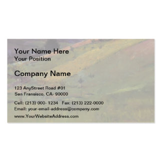 Guy Rose- Giverny Hillside Business Card Template