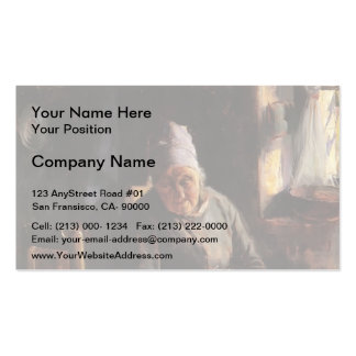 Guy Rose- La Mere Pichaud Pack Of Standard Business Cards
