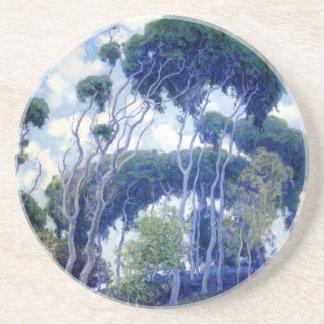 Guy Rose - Laguna Eucalyptus - Art Masterpiece Coaster