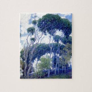 Guy Rose - Laguna Eucalyptus - Art Masterpiece Jigsaw Puzzle