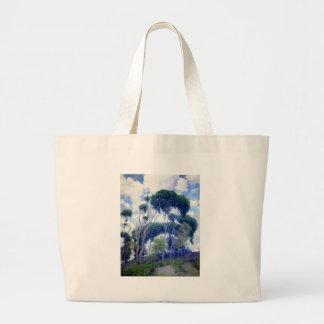 Guy Rose - Laguna Eucalyptus - Art Masterpiece Large Tote Bag