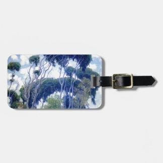 Guy Rose - Laguna Eucalyptus - Art Masterpiece Luggage Tag