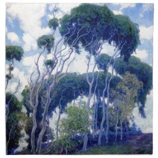 Guy Rose - Laguna Eucalyptus - Art Masterpiece Napkin