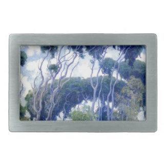 Guy Rose - Laguna Eucalyptus - Art Masterpiece Rectangular Belt Buckles