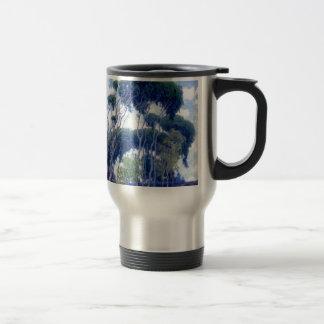 Guy Rose - Laguna Eucalyptus - Art Masterpiece Travel Mug