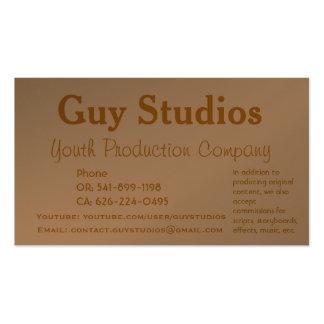 Guy Studios Business Cards