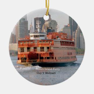Guy V. Molinari ornament