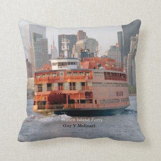 Guy V. Molinari square pillow