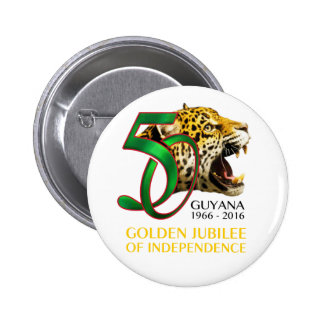 Guyana 50th Independence button