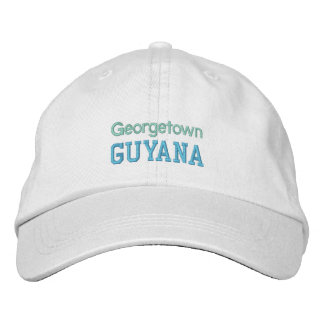 GUYANA cap Embroidered Hats