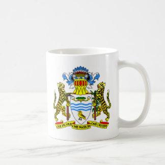 Guyana coat of arms coffee mug