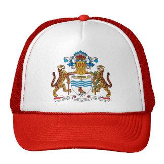 Guyana Coat of Arms detail Cap
