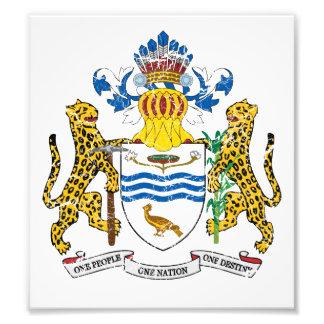 Guyana Coat Of Arms Photographic Print