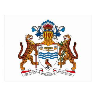 Guyana Coat of Arms Postcard